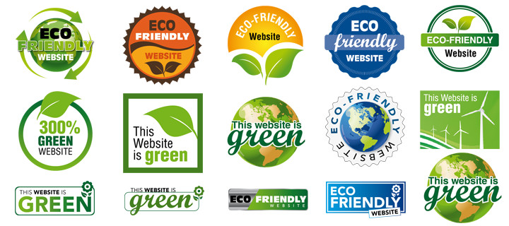 Eco Web Hosting Badges