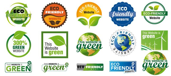 Eco Web Hosting Badges